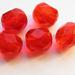 Skleněné broušené perle
